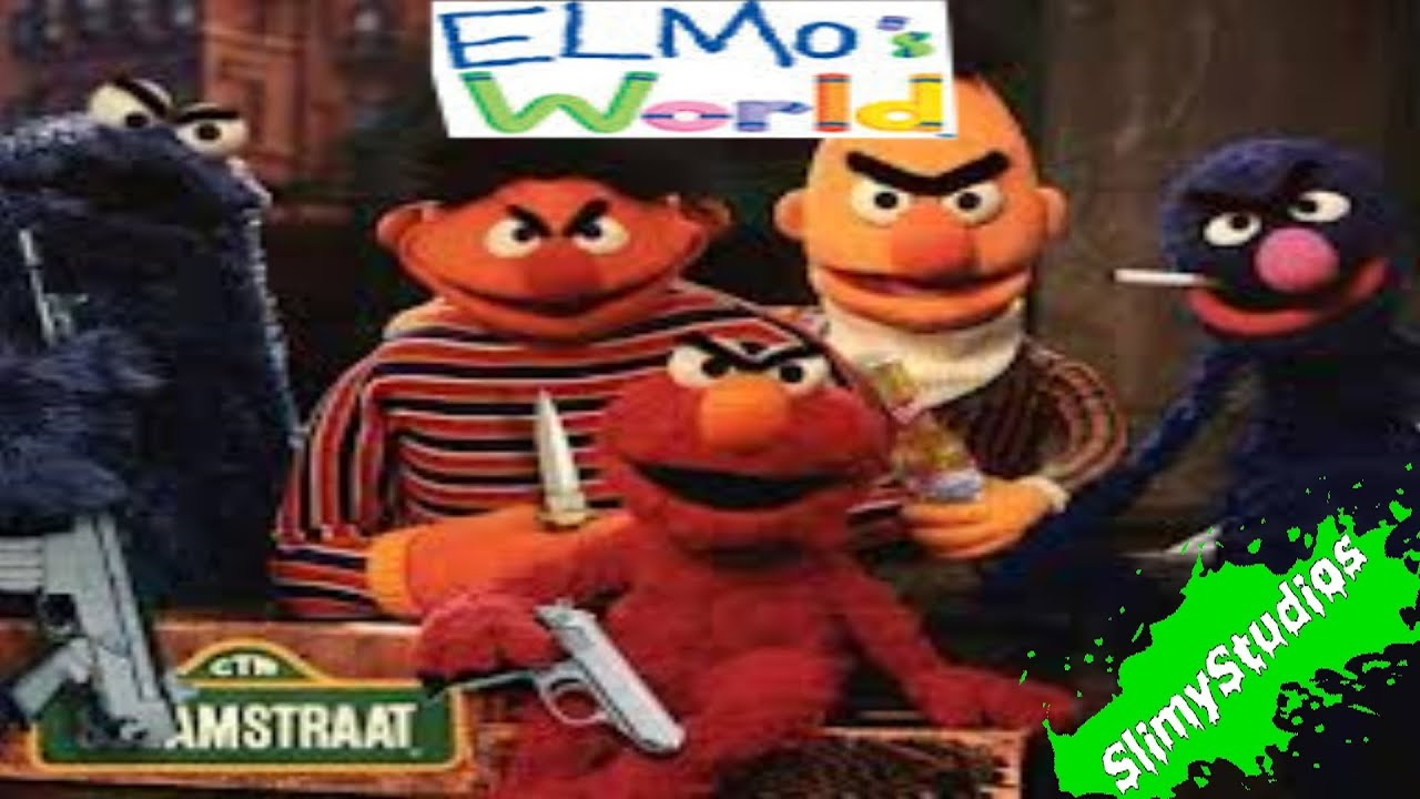 Cartoon Characters Gone Bad : Elmo s world gameplay sesame street gone wrong youtube