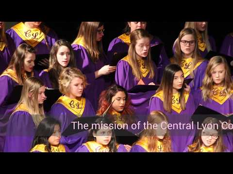 2017 Central Lyon Middle School Presents CL Choir by Brendon