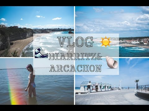 SUMMER VLOG : Biarritz & Arcachon | CANNIBALECORE