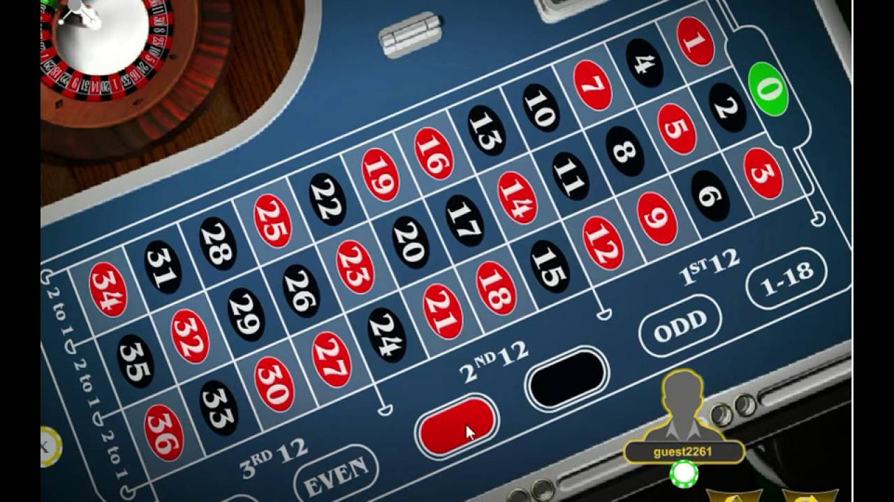 Online roulette prediction system