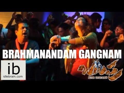 Balupu Brahmanandam Gangnam style dance leaked video - idlebrain.com