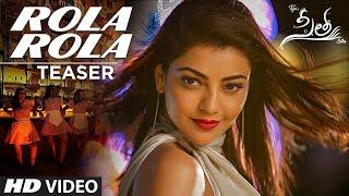 Sita Movie Rola Rola Song 4K Teja Sai Sreenivas Bellamkonda Kajal Aggarwal Anup Rubens