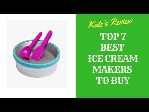 Best Ice Cream Makers To Buy In 2019