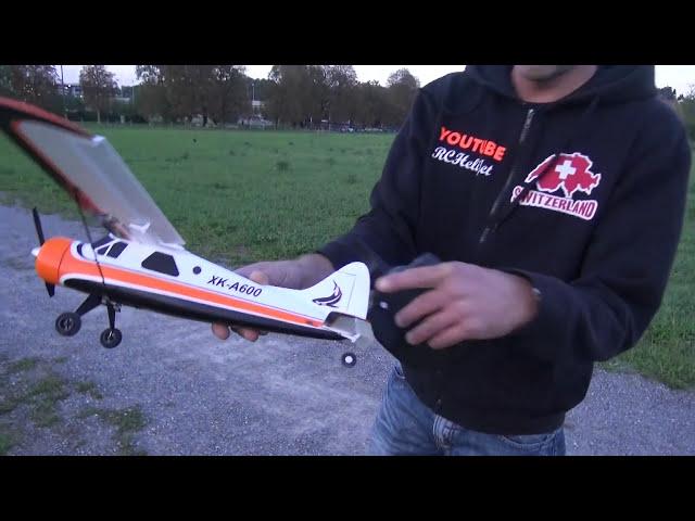xk a600 5ch brushless glider rc aeroplane rtf eu plug 106 67 free