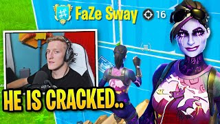 Tfue *IMPRESSED* Spectating FaZe Sway Then They DOMINATE Everyone!