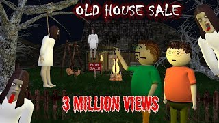 Old House Sale - Horror Story (ANIMATED IN HINDI) Make Joke Horror