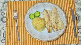 Запеченное филе рыбы в духовке