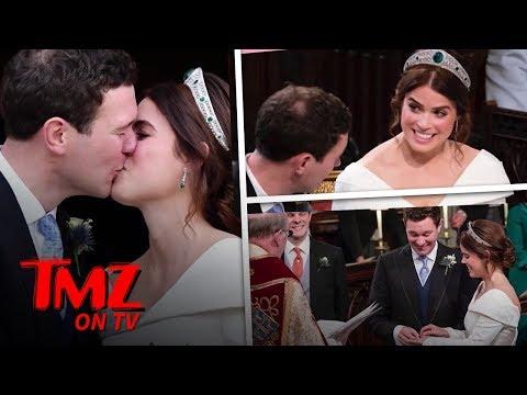 Princess Eugenie & Jack Brooksbank Have A Royal Wedding At Windsor Castle   TMZ TV