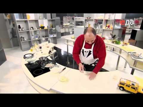 Частично-заварное тесто для вареников и пельменей мастер-класс от шеф-повара / Илья Лазерсон