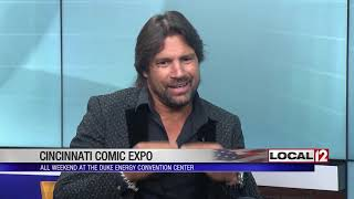 """Arrow"" and ""Spartacus"" actor Manu Bennett to appear at Cincinnati Comic Expo"