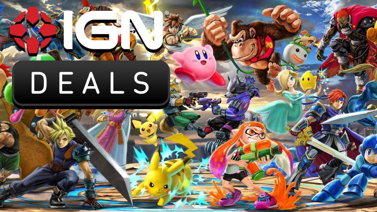 Pre-order Smash Bros. Ultimate And Save On Spider-Man PS4 - Daily Deals