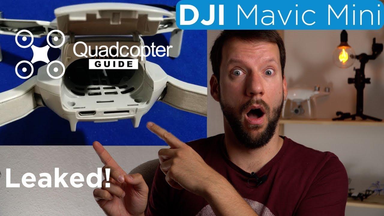 Dji Mavic Mini Leaked All The Details 4k Youtube
