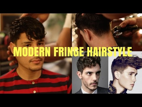 mens-modern-fringe-|-low-taper-cut-|-versatile-trendy-hairstyles-2017