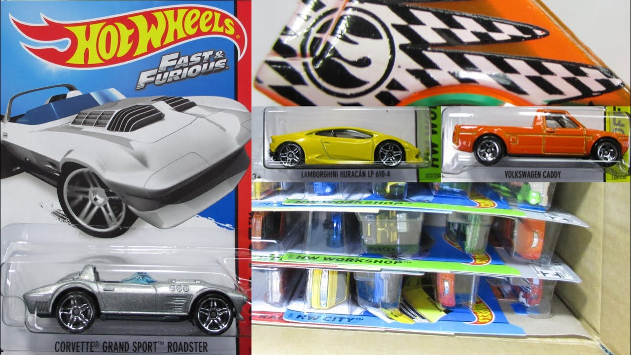 2015 F World Wide Hot Wheels Factory Sealed Case Unboxing By Race ...