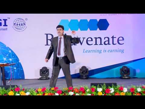 """Concept selling of LIC plans"" by Ranjan Nagarkatte.at the LUGI 14th Annual Convention"