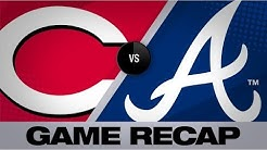 Acuna's 1st walk-off hit lifts Braves in 10th | Reds-Braves Game Highlights 8/3/19