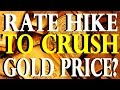 Will A Rate Hike CRUSH Gold & Silver Prices? | Craig Hemke