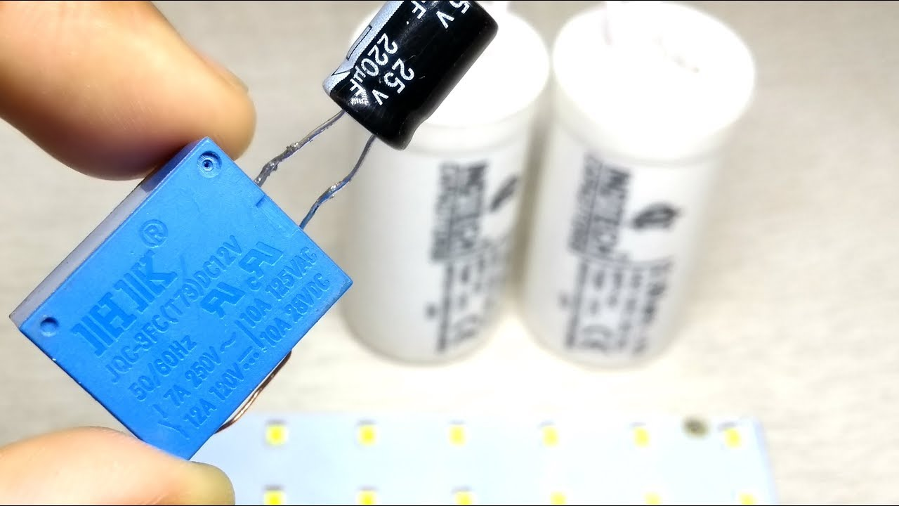DIY 2 Awesome experiment with capacitor