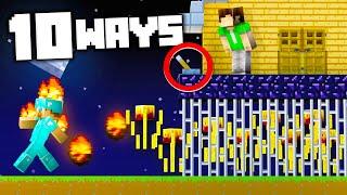 10 Ways to Make The Safest Base in Minecraft!