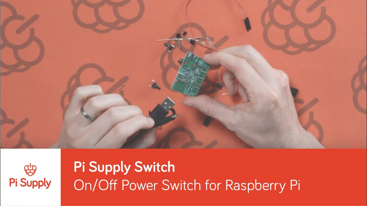 Pi Supply Switch - On/Off Power Switch for Raspberry Pi