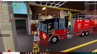 (Roblox) Roseford County Fire Department Roleplay ep1
