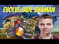 Thijs goes high in ladder with Evolve Jade shaman (Journey to Un'Goro)