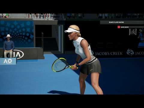 AO International Tennis LIVE Match Sunny Vs. Jelena Ostapenko