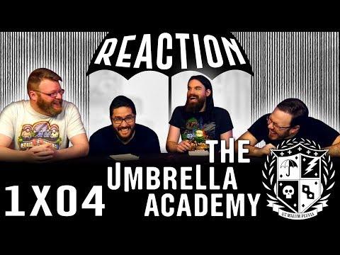 "The Umbrella Academy 1x4 REACTION!! ""Man On The Moon"""