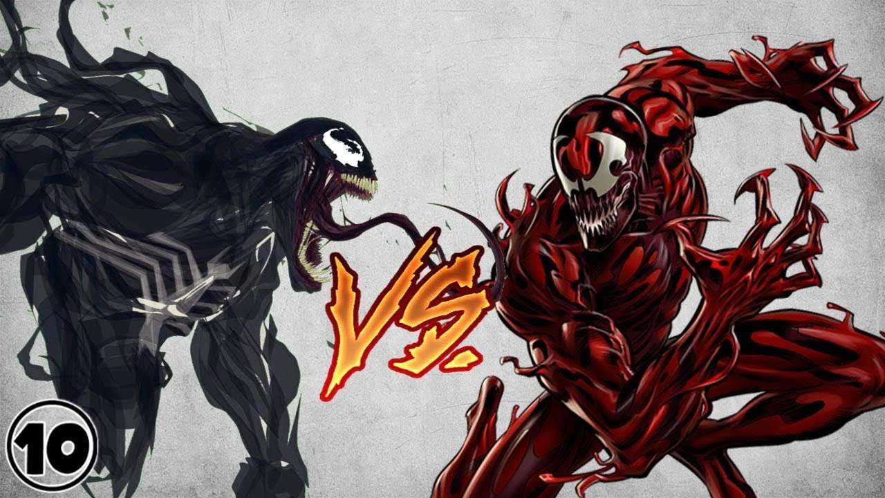 Venom vs Carnage - YouTube