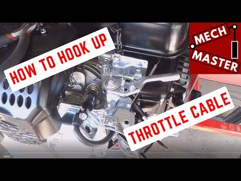Throttle Cable Set Up Go Kart, Predator Harbor Freight