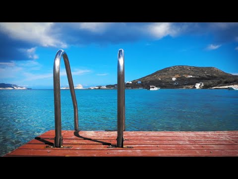 Water Sounds For Relaxation In The Greek Islands 🌊☀️ 10 Hours White Noise