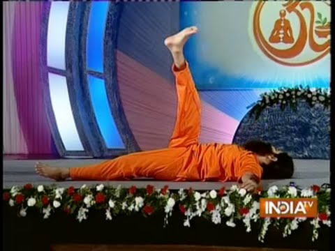Download Baba Ramdev's cure for Spinal chord pain (shavasan on back)