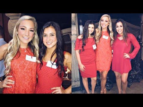ALPHA PHI RED DRESS BRUNCH + MEET TAYLOR'S BOYFRIEND!