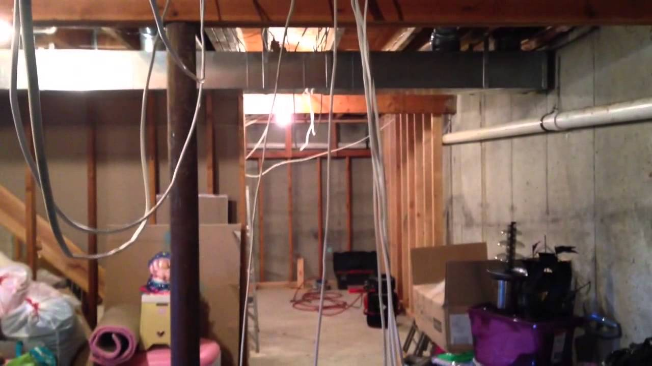 hight resolution of finishing my basement part 2 electrical