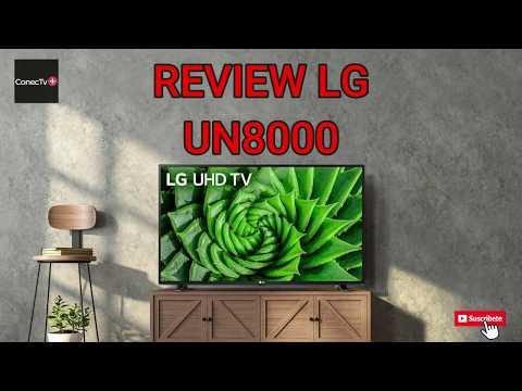 LG UN8000 Smart TV UHD 4k línea de TV 2020: Review en Español