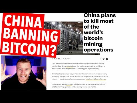 BITCOIN MINING BANNED IN CHINA?