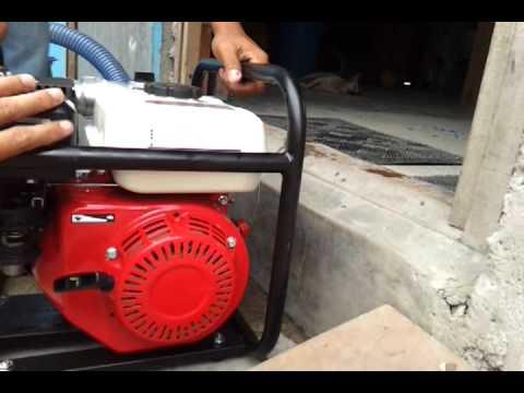 Fire Pump First Test - FIRE TRIKE PROJECT