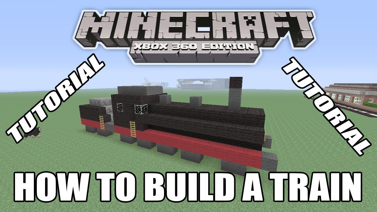 minecraft xbox edition how to build a train youtube. Black Bedroom Furniture Sets. Home Design Ideas