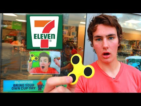 Thumbnail: 7-Eleven STOLE TechSmartt's Fidget Spinner Video