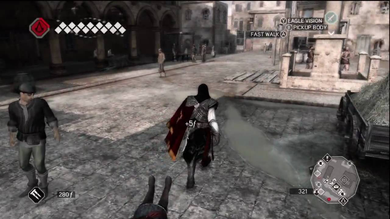 Assassin S Creed 2 Xbox 360 Gameplay Part 12 Of 21 720p Hd Youtube