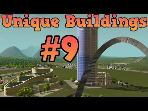 Cities Skylines Unlocking unique buildings - Ep 9 Transport Tower