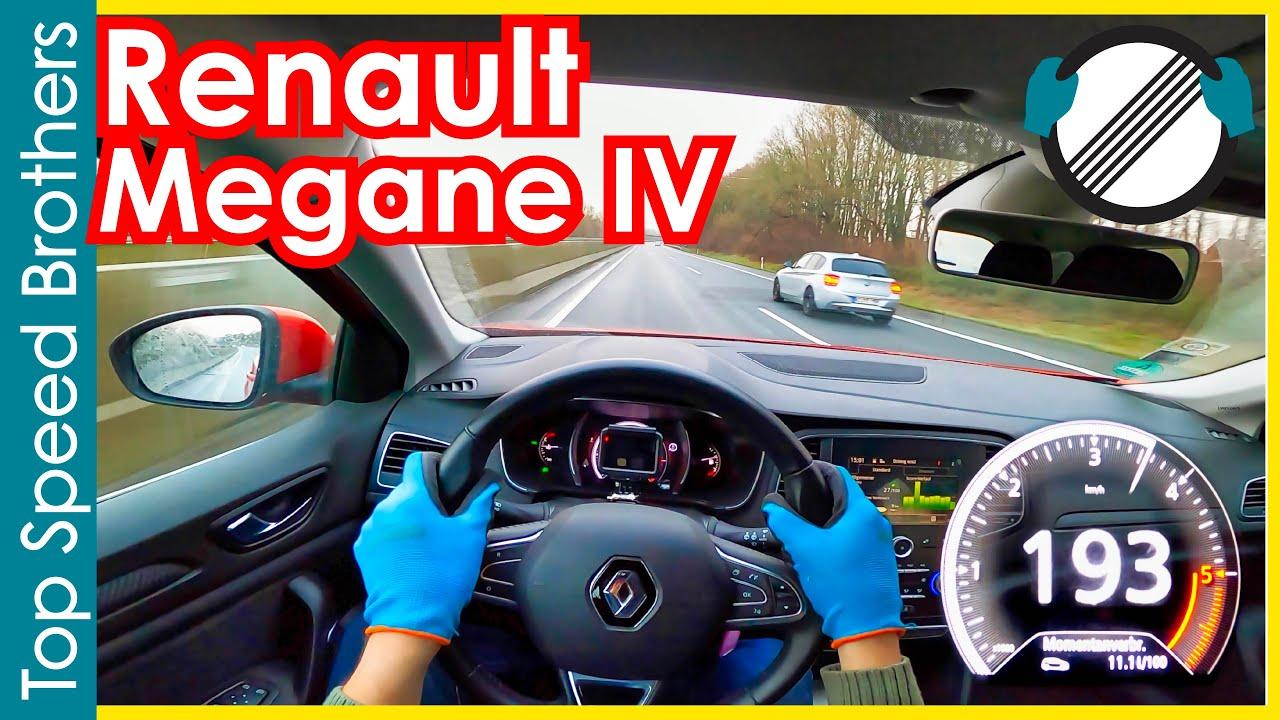 Renault Megane IV GT 1.5 dCi 110HP (2018) AUTOBAHN POV TOP SPEED 🚀