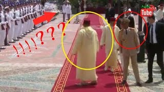 خطأ فادح في البروتوكول من الحرس الملكي يضع محمد السادس في موقف محرج