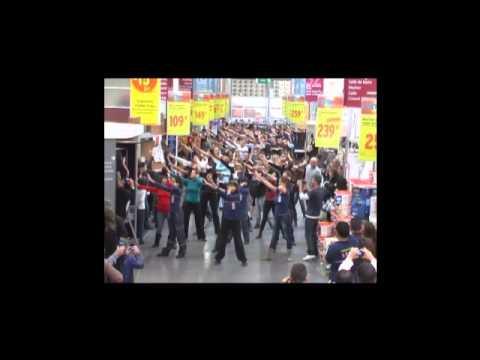 Flash Mob Castorama Blagnac Officiel - YouTube