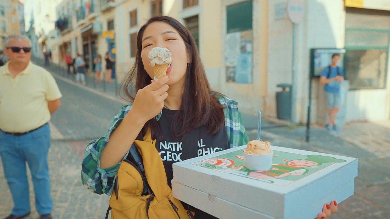 행복지수 최상💘 아이스크림+피자+유럽 =뭐다? 돼지파티다!!!!!! EP.4