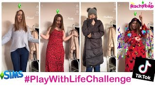 How to do The Sims Play With Life TikTok Challenge