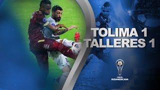 Deportes Tolima vs. Talleres [1-1] | RESUMEN | Fecha 2 | CONMEBOL Sudamericana 2021