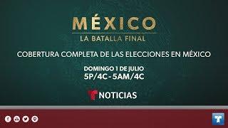 Cobertura completa de las elecciones en México por Noticias Telemundo.
