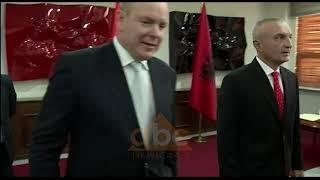 Princi i Monakos per here te pare ne Shqiperi | ABC News Albania