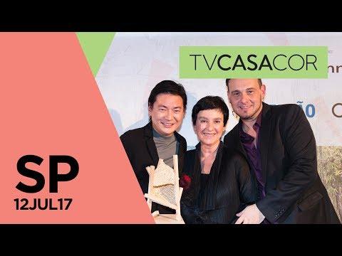CASACOR SP 2017: Prêmio CASA no TV CASACOR ao VIVO